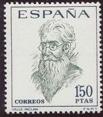 Spain 1966 Famous Spanish - Poets and Dramaturges a