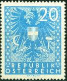 Austria 1945 Coat of Arms j