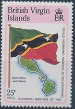 British Virgin Islands 1987 11th Meeting of the Organization of Eastern Caribbean States d