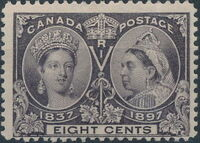 Canada 1897 60th Year of Queen Victoria's Reign g