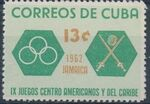 Cuba 1962 9th Central American and Caribbean Games d