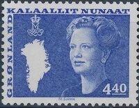 Greenland 1989 Queen Margrethe II b