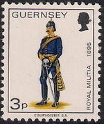 Guernsey 1974 Military Uniforms Definitive Issue f
