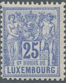 Luxembourg 1882 Industry and Commerce i