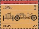 Nevis 1985 Leaders of the World - Auto 100 (3rd Group) s