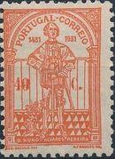 Portugal 1931 5th Centenary of the Death of St. Nuno Álvares Pereira c