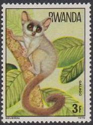 Rwanda 1978 Apes d