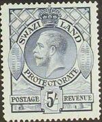 Swaziland 1933 George V i