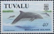Tuvalu 1998 Dolphins and Porpoises a