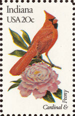 United States of America 1982 State birds and flowers m