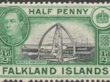 Falkland Islands 1938 George VI and Landscape (1st Issue)