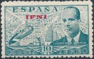Ifni 1948 Juan de la Cierva - Air Post Stamps b