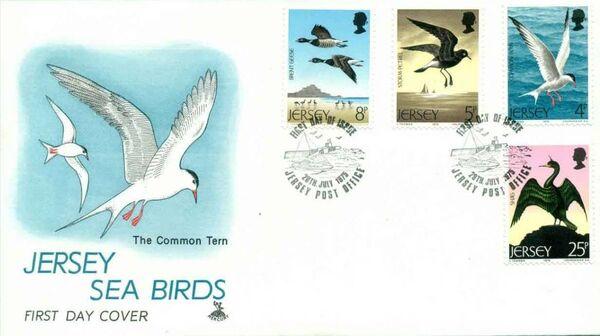 Jersey 1975 Sea Birds e