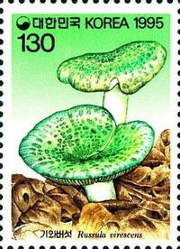 Korea (South) 1995 Mushrooms (3rd Issue) a