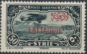 Latakia 1931 Air Post Stamps of Syria 1931 Overprinted i