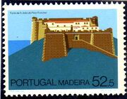 Madeira 1986 Forts in Funchal and Machico b