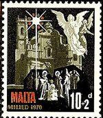 Malta 1970 Christmas b