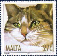 Malta 2004 Cats b