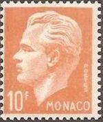 Monaco 1951 Prince Rainier III d