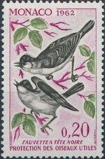 Monaco 1962 Protection of Useful Birds d