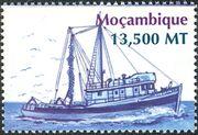 Mozambique 2002 Ships j