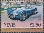 Nevis 1984 Leaders of the World - Auto 100 (1st Group) v