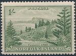 Norfolk Island 1947 Ball Bay - Definitives k