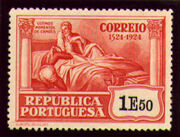 Portugal 1924 400th Birth Anniversary of Camões w