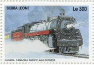 Sierra Leone 1995 Railways of the World 4g