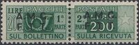 Trieste-Zone A 1948 Parcel Post Stamps of Italy 1946-48 Overprint c