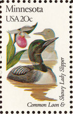 United States of America 1982 State birds and flowers v
