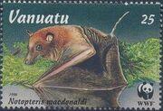 Vanuatu 1996 WWF Flying Foxes a