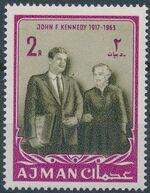 Ajman 1964 President Kennedy e