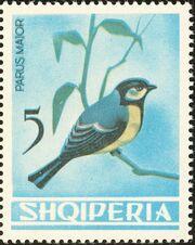 Albania 1964 Birds g