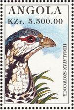 Angola 1996 Hunting Birds g