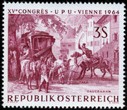 Austria 1964 15th UPU Congress in Vienna f