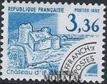 France 1982 Historic Monuments - Pre-cancelled (4th Issue) e
