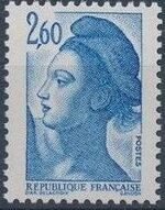 France 1982 Liberty after Delacroix (2nd Issue) c