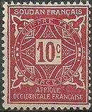 French Sudan 1931 Postage Due b