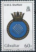 Gibraltar 1983 Royal Navy Crests 2nd Group d
