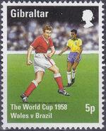 Gibraltar 1998 Football World Cup - France a