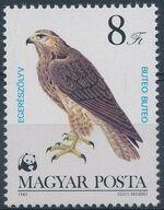 Hungary 1983 WWF - Birds of Prey g