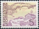 Liechtenstein 1973 Landscapes j