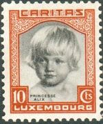 Luxembourg 1931 Princess Alix a