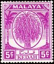 Malaya-Kedah 1952 Definitives (New values) a