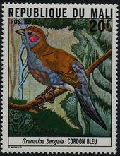Mali 1978 Mali Birds (2nd Group) a
