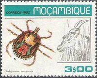 Mozambique 1980 Ticks from Mozambique e