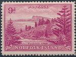 Norfolk Island 1947 Ball Bay - Definitives j