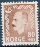 Norway 1951 King Haakon VII g