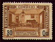 Portugal 1925 Birth Centenary of Camilo Castelo Branco l
